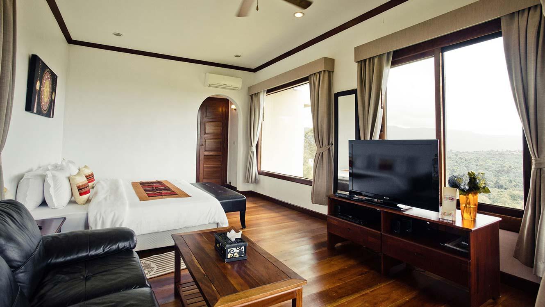 sabaijai villa double bed sabaidee valley